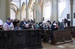 Vesper in St_Ulrich_Afra ARGE Tagung 2015